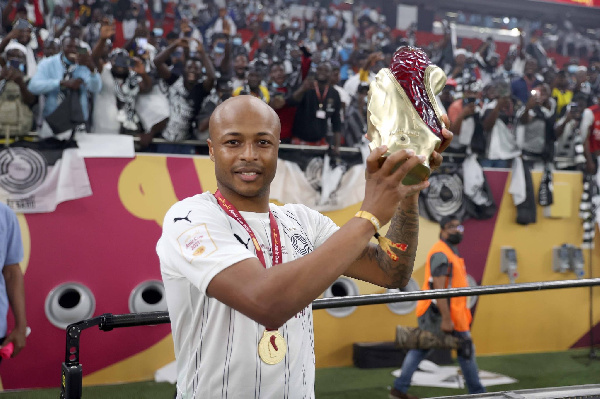 Ghana forward Andre Ayew target winning more trophies with Al Sadd after Emir Cup triumph