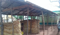 One of the structures used a class room for teaching