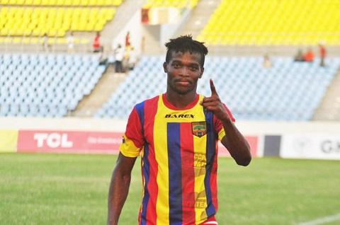 Striker Richard Zumah