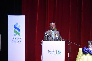 Dr. Emmanuel Kumah, Board Chairman, Standard Chartered Bank Ghana Limited