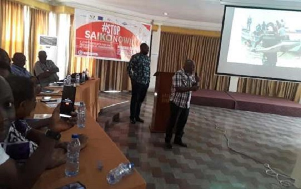 Greater Accra Regional fishers deliberate on ending Saiko