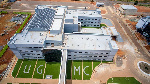 An aerial shot of the University of Ghana Medical Center