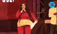 Gifty Osei at the just ended People's Celebrity Awards
