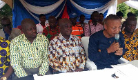 Some executives of NPP in the Bosomtwe Constituency