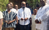 President John Mahama(M) is behind in ongoing polls