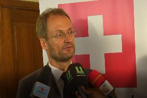 Switzerland Ambassador to Ghana, Philipp Stalder