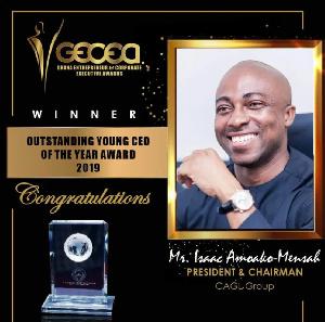 Isaac Amoako-Mensah ,Group President of CAGL Group