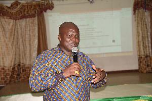 Dr. Emmanuel Nii Tackie-Otoo, Deputy Executive Director, CHED