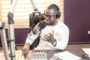 Giovani Caleb was the co-host of Starr Drive on Starr 103.5 FM