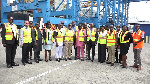 Minister of transport, deputies pay working visit to GPHA