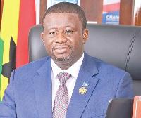 Director-General of NADMO, Nana Eric Agyemang-Prempeh