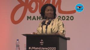 2020 NDC Vice Presidential Caandidate, Prof. Jane Naana Opoku-Agyemang