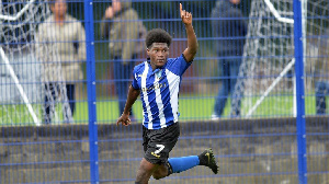 Ghanaian youngster Charles Hagan