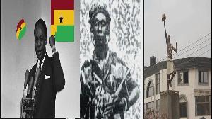 Dr. Kwame Nkrumah, Yaa Asantewaa and Okomfo Anokye