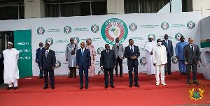 ECOWAS Leaders Accra 2021