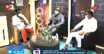 Scofray Nana Yaw Yeboah (in grey suit) was a guest on Men's Lounge