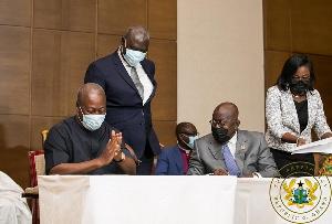 Mahama Akufo Addo+2020