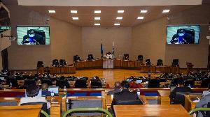 Rwanda Parliament Session