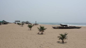 The beaches have been shut down as a result of coronavirus