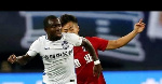 Frank Acheampong forced by ankle injury to sit out of Tianjin Tada's 2-2 draw