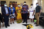 The Hospital Managment with the MCE and other Assembly officials