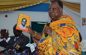 Dr. S.K.B Asante launching the Gold Coast Boy.