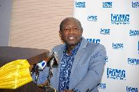 Ebenezer Twum Asante, the CEO of MTN