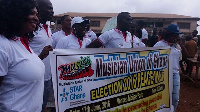 The Brong Ahafo regional branch of MUSIGA