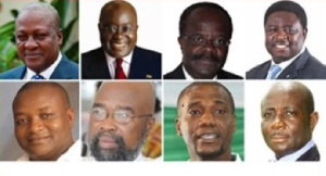 Some Ghanaian politicians