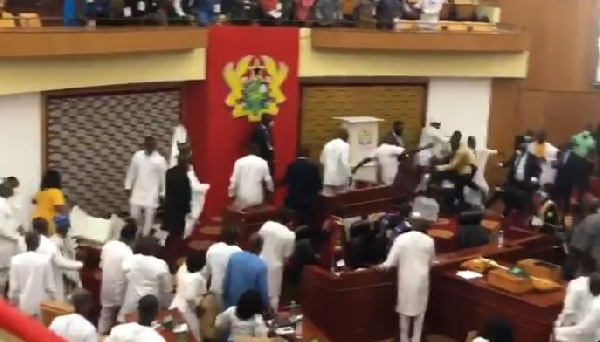 Election of Speaker: John Jinapor apologises for kicking voting booths