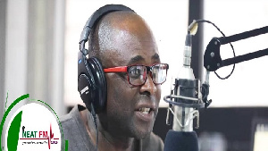 Kwasi Aboagye is the host of Peace FM Entertainment Review