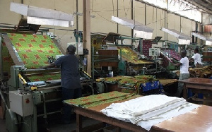File photo of garment factory