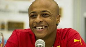 Andre Ayew Smile