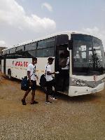 King Faisal appeals to Otumfuo Osei Tutu II for a new bus