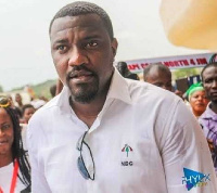 Aspiring NDC parliamentary candidate for the Ayawaso West Wuogon Constituency, John Dumelo