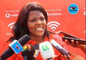Yolanda Cuba, CEO of Vodafone Ghana