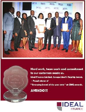 Ideal Finance Wins CIMG Award