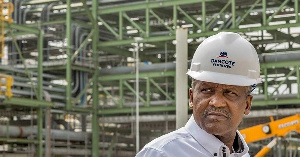 Dangote is building a private refinery and fertilizer plant in Lagos