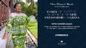 Yawa Hansen-Quao is the Vlisco Ghana Ambassador for 2021