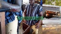 Salisu Be-Awuribe was beaten by an NDC vigilante group known as Al Qaeda