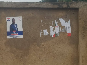 Mr Maikano believes the NPP is responsible for taking down the NDC posters