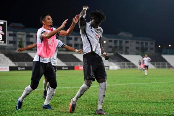 Jordan Mintah bags brace for Terengganu FC II in Malaysian Premier League