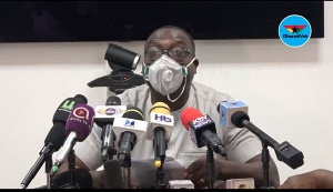 Yaw Buaben Asamoa, Communication Director of the governing New Patriotic Party (NPP)