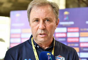 Milovan Rajevac coached Black Stars for two years