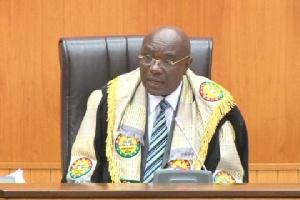 Speaker of Parliament, Edward Doe Adjaho