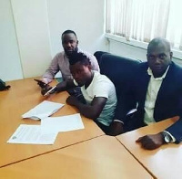 Former Asante Kotoko striker Frederick Boateng (m)