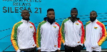 The Men's Relay team have booked their place at this summer's Olympic Games