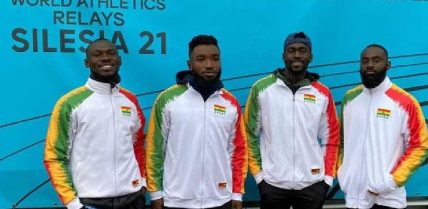Ghana's men quartet to receive special package from Sports Minister