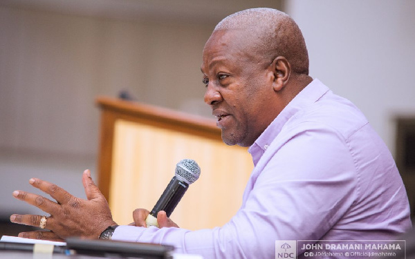 Voters register: Akufo-Addo embarking on ethnic discrimination - Mahama