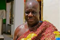 Awulae Annor Adjaye III, President of the Western Nzema Traditional Council